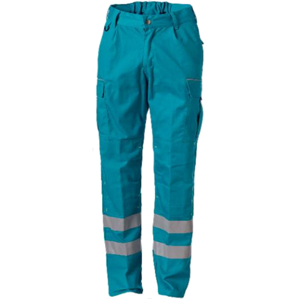 Rescuewear Unisex Broek enamel, kniezakken