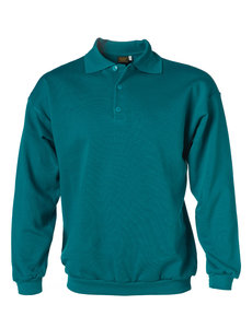 Rescuewear Polosweater Basic Enamel Blauw