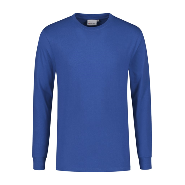 Santino T-shirt langarm James, Kobaltblau