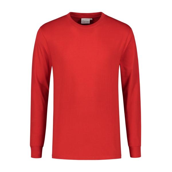 Santino T-shirt langarm, rot