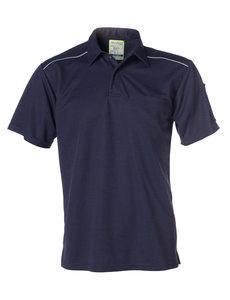 Rescuewear Poloshirt met korte mouw, Natura Marineblauw