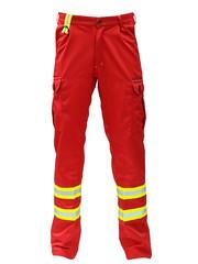 Rescuewear Unisex broek voor waterrescue, rood
