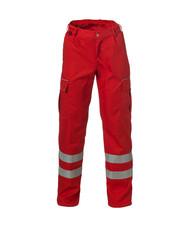 Rescuewear Unisex Broek Basic, Rood
