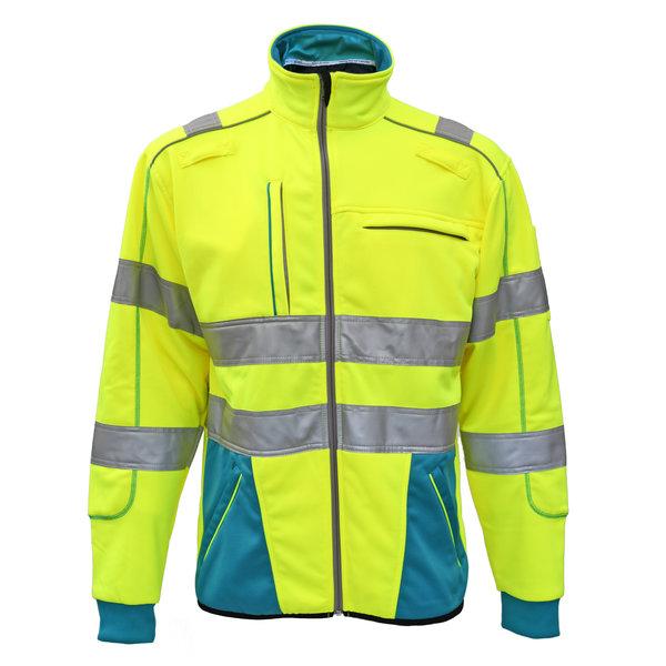 Rescuewear Sweatjacket Dynamic HiVis, Enamel/Neongelb