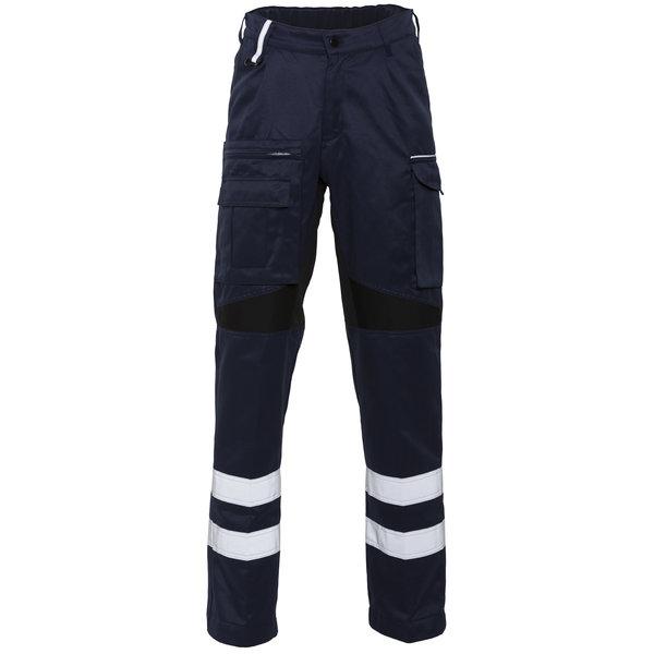 Rescuewear Unisex Hose Karlsruhe mit Stretch, Navy Blau