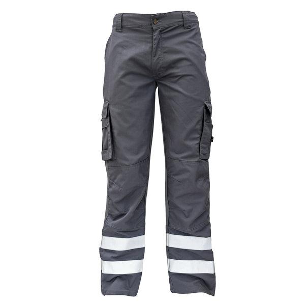 Rescuewear Unisex Hose Wiesbaden mit Stretch Einsatz, Grau