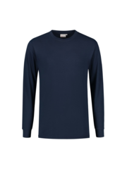 Santino T-shirt lange mouw James, marineblauw