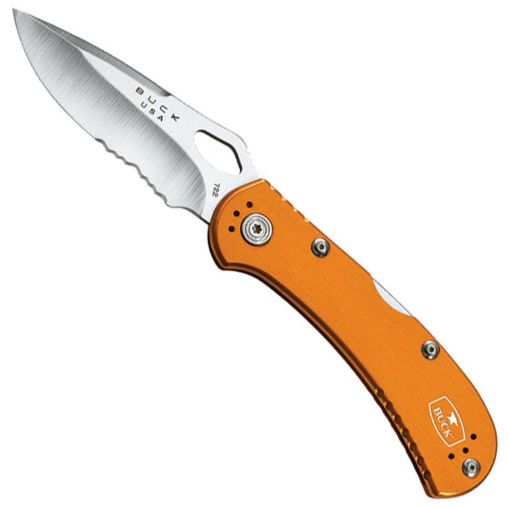 Buck Buck Spitfire oranje gekarteld