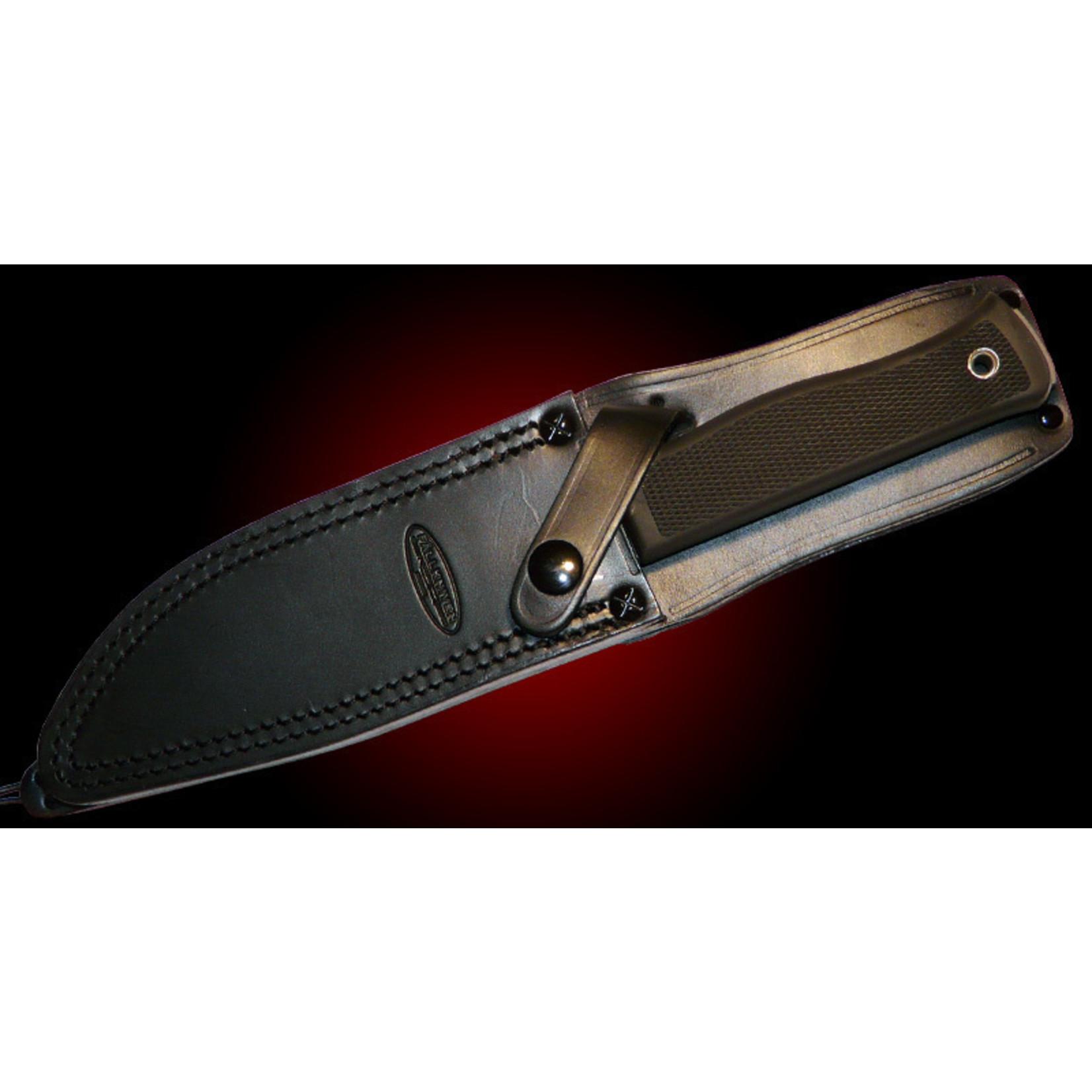 Fallkniven Fallkniven A1 Expedition knife met lederen holster
