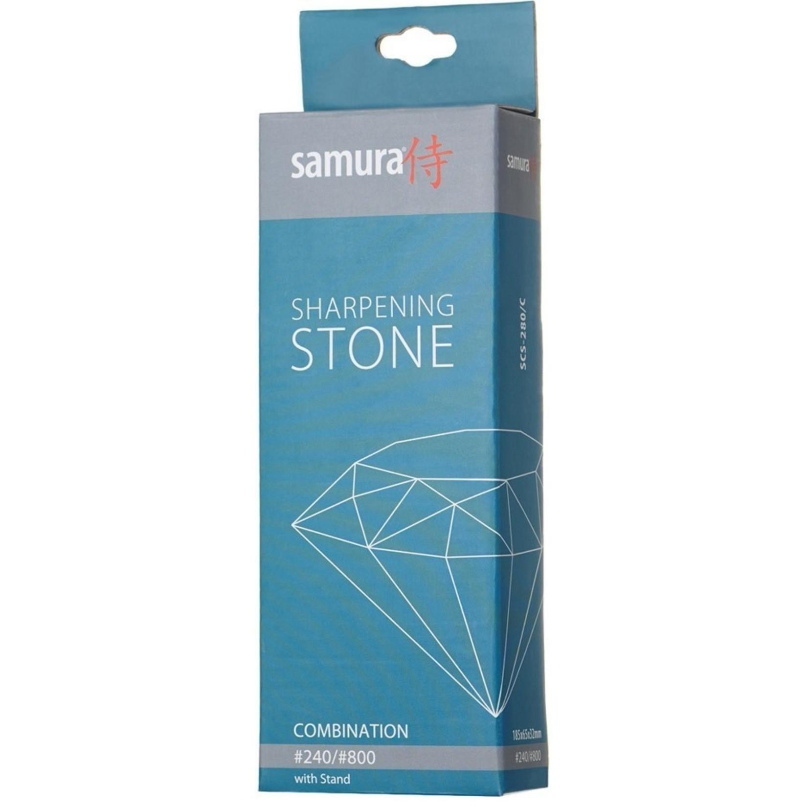 Samura Samura slijpsteen korrel 240/600, met houder