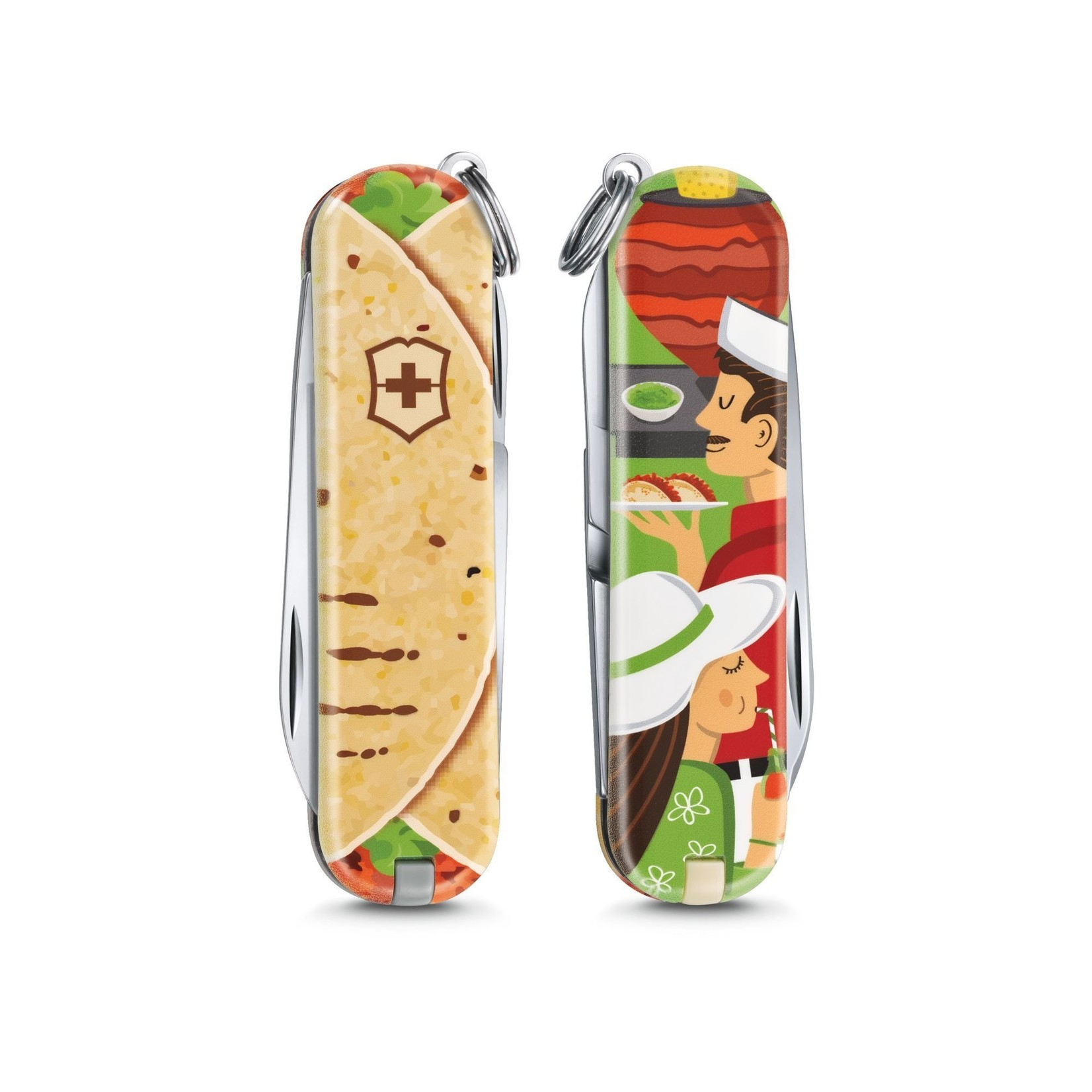 Victorinox Victorinox Classic SD zwitsers zakmes limited edition 2019 mexicaanse taco's