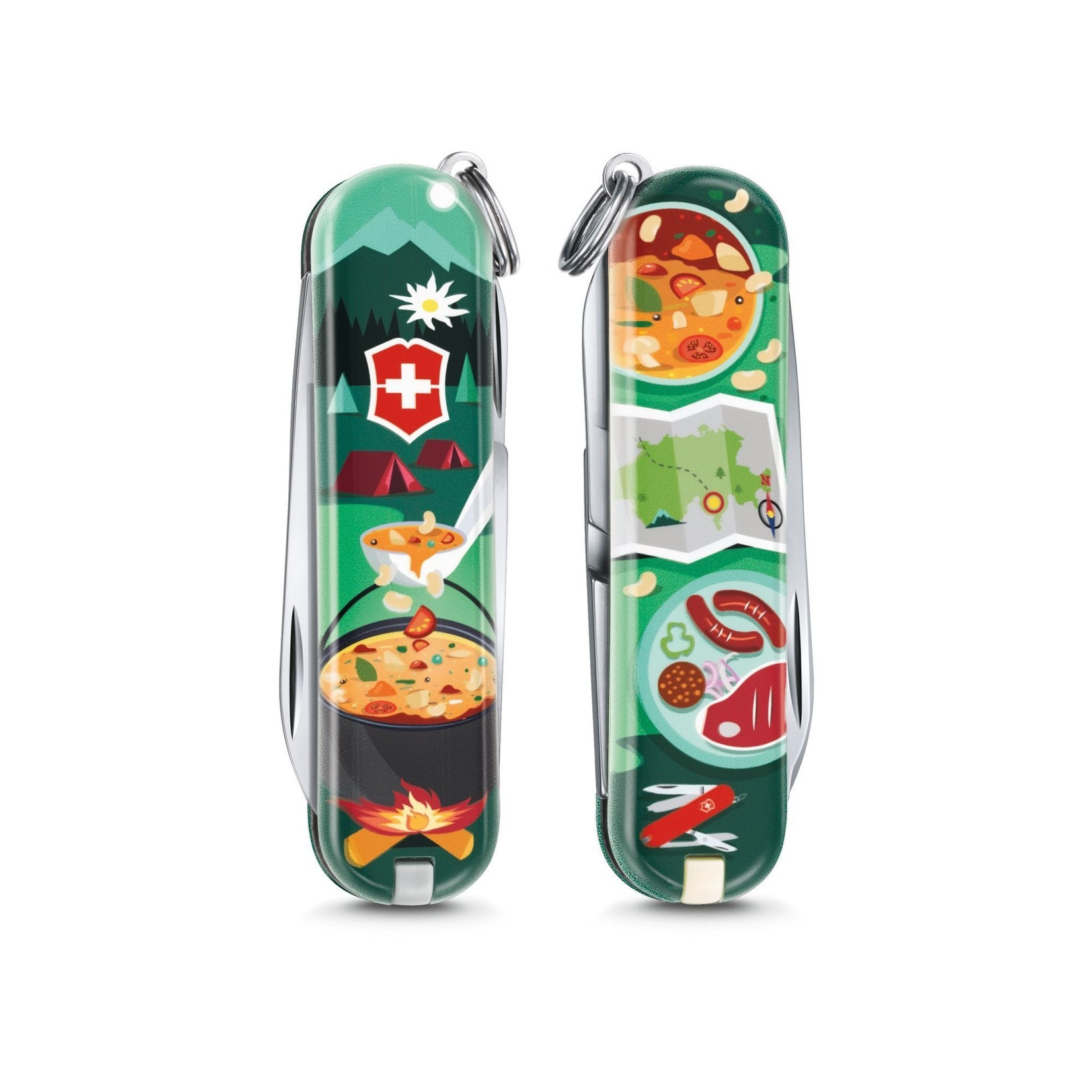 Victorinox Victorinox Classic SD zwitsers zakmes limited edition 2019 swiss mountain dinner