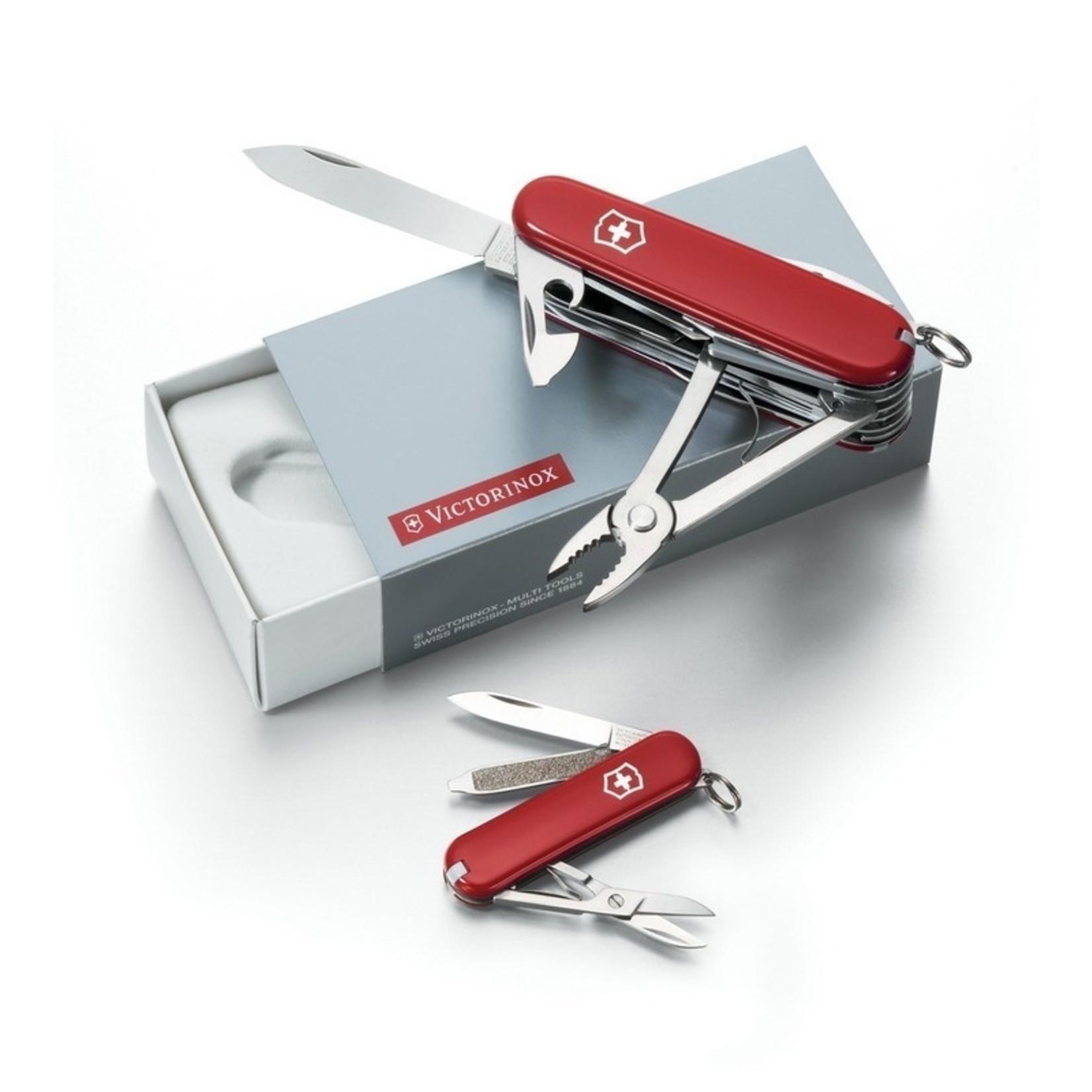 Victorinox Victorinox Gift Box DUO SwissChamp+Classic rood