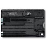 Victorinox SwissCard Quattro zwart transparant