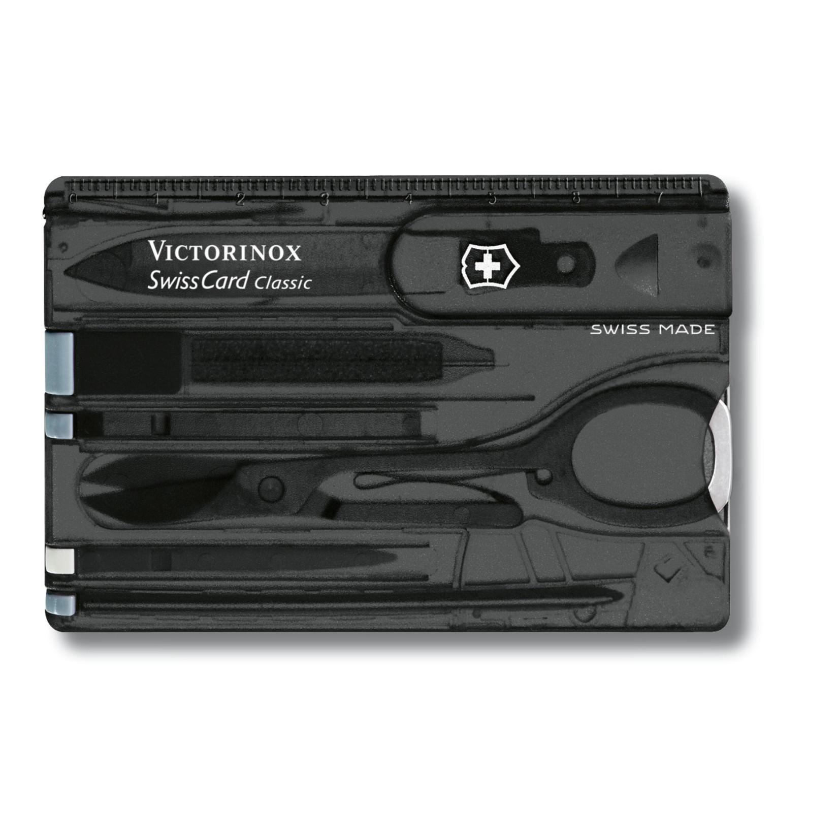 Victorinox Victorinox SwissCard zwart transparant