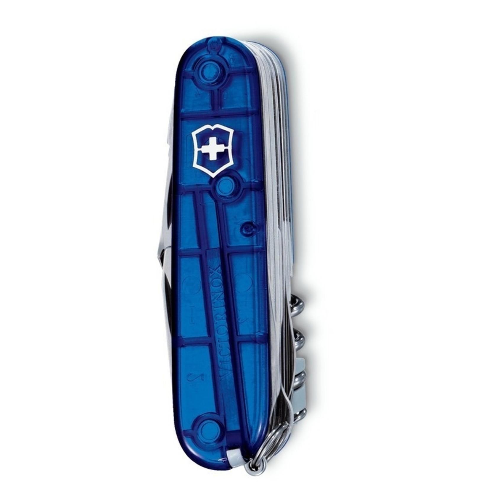 Victorinox Victorinox SwissChamp blauw transparant