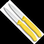 Victorinox Victorinox SwissClassic schilmesje 8cm geel (set van 2)