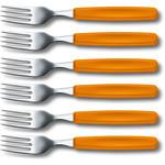 Victorinox Victorinox Swissclassic vork oranje (set van 6)