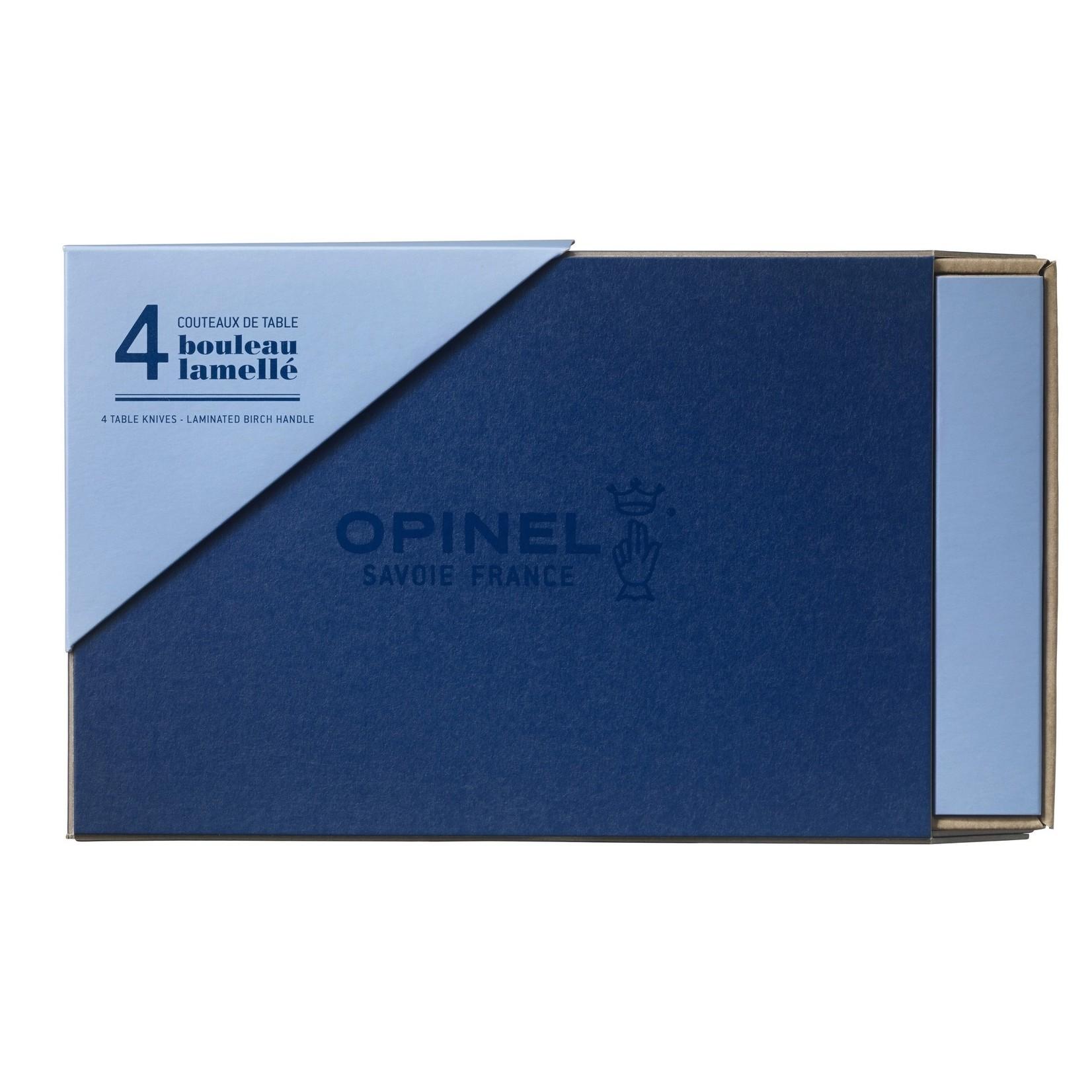Opinel Opinel Chic tafelmessen 4-delig berkenhout