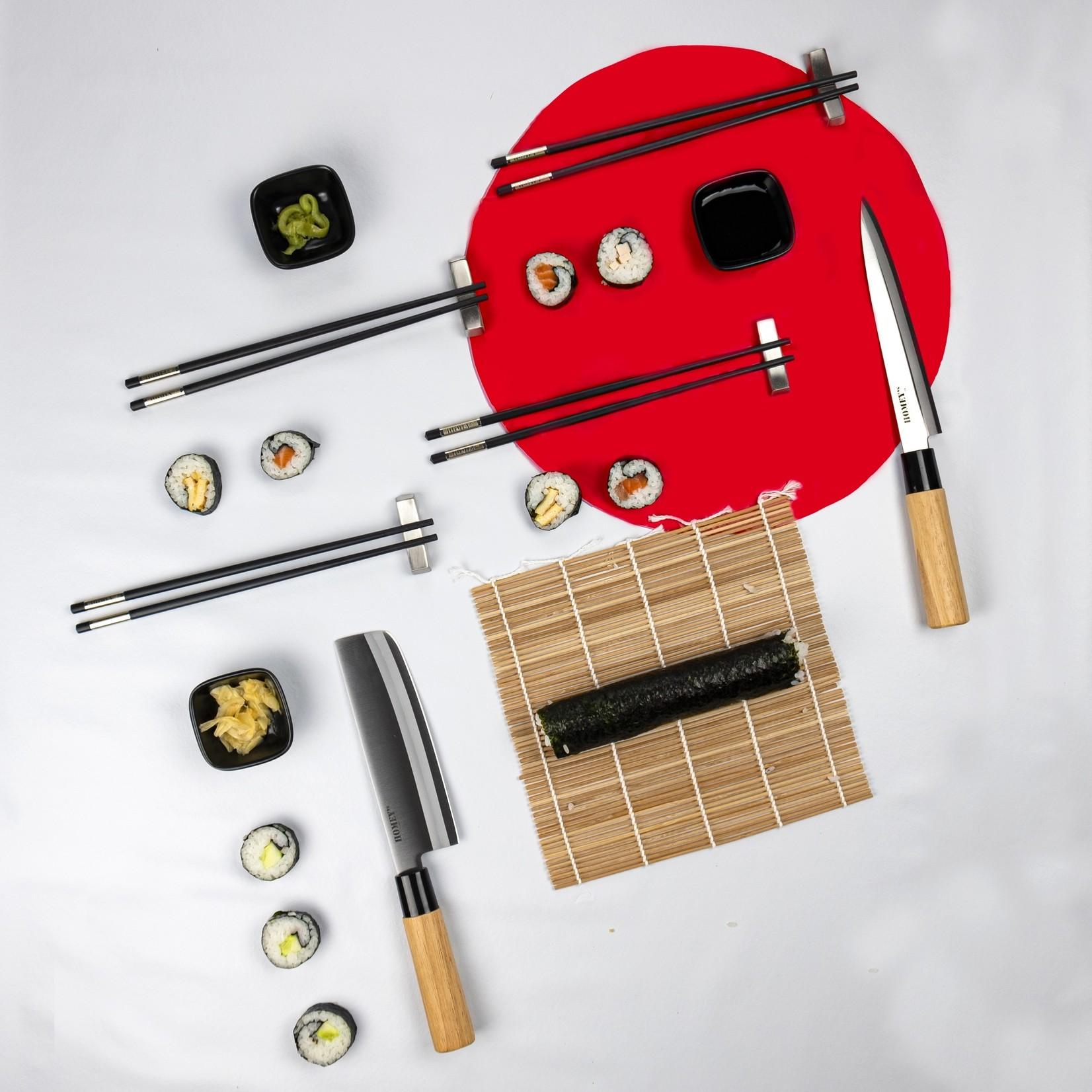 Homeys Homeys Nippon sushi giftset 14-delig, met opbergkoker