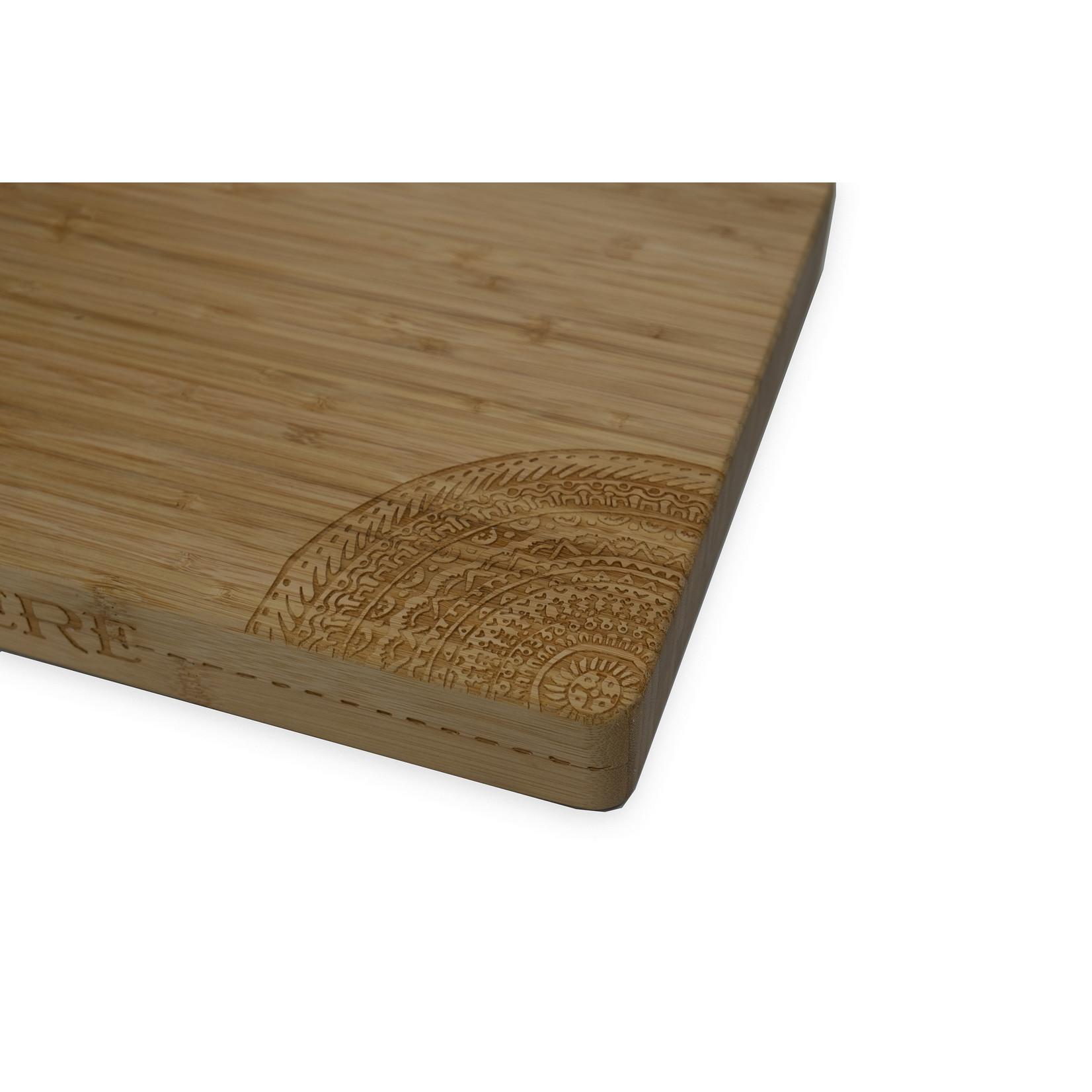 Homeys Homeys Schiffmacher snijplank bamboe, tattoobedrukking