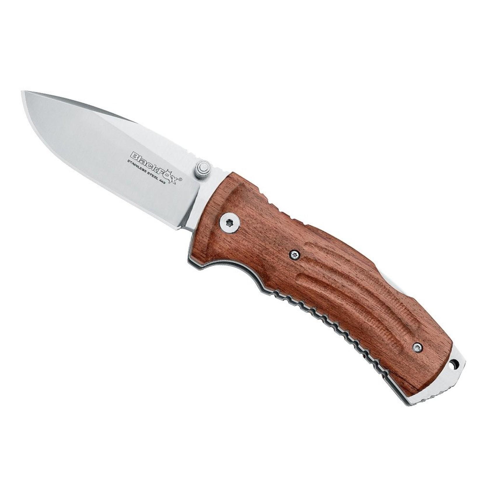 Black Fox Black Fox Kuma Knife zakmes, met lederen foudraal