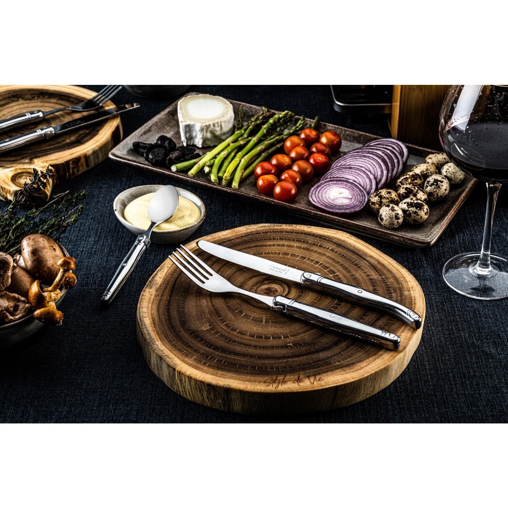 Laguiole Style de Vie Laguiole Style de Vie Premium Line bestekset 24-delig, rvs