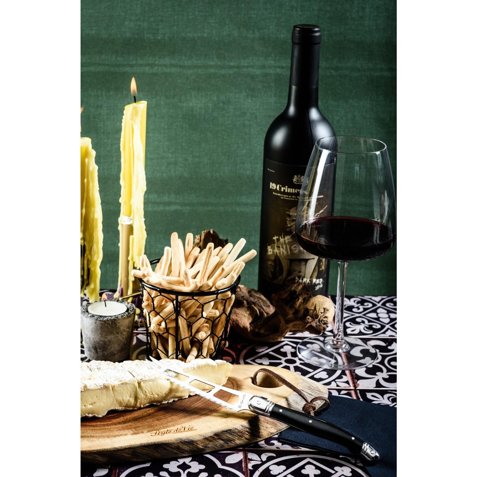 Laguiole Style de Vie Laguiole Style de Vie Premium Line kaasmes zwart