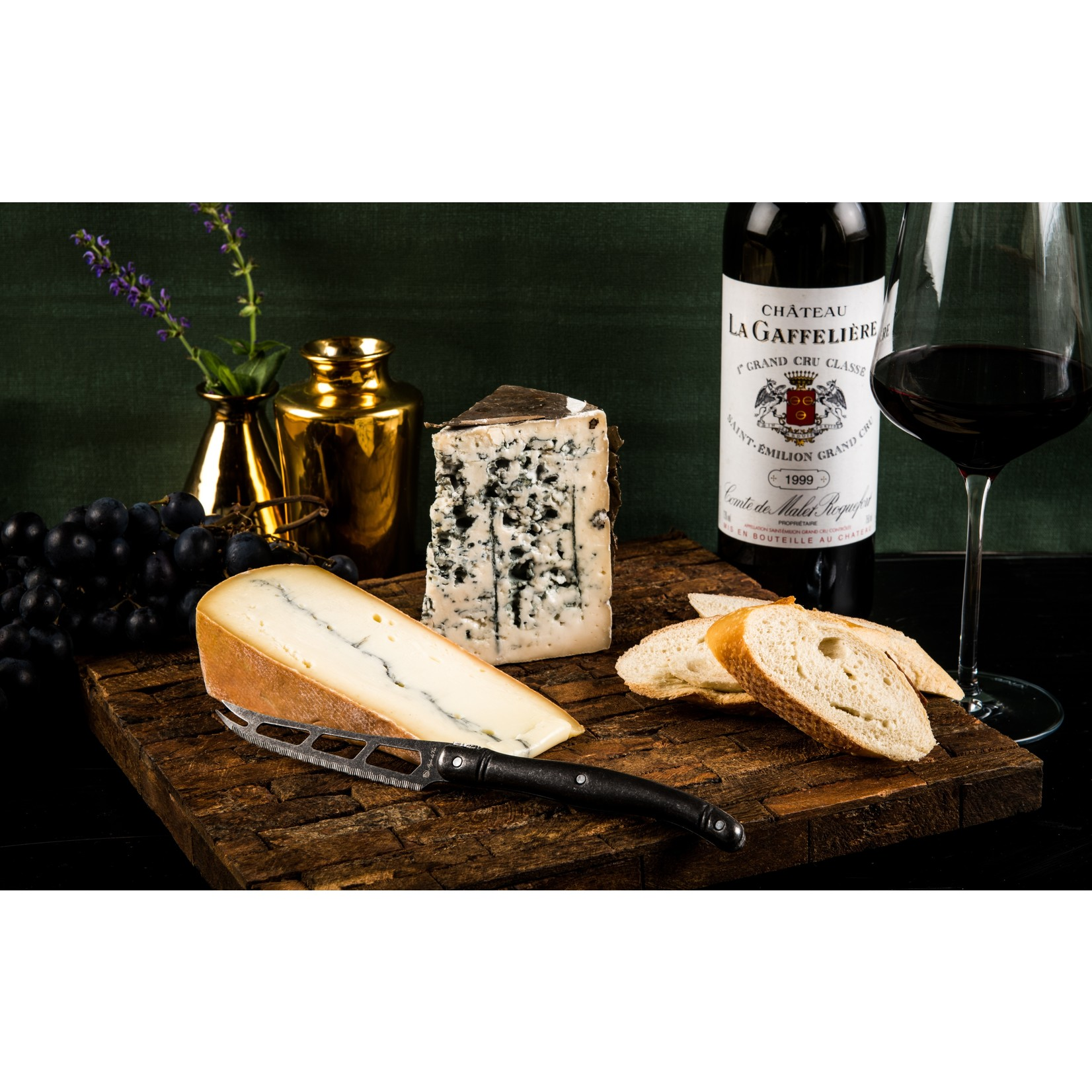 Laguiole Style de Vie Laguiole Style de vie Premium line kaasmes black stonewash