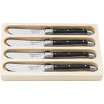 Laguiole Style de Vie Premium Line botermessenset 4-delig zwart