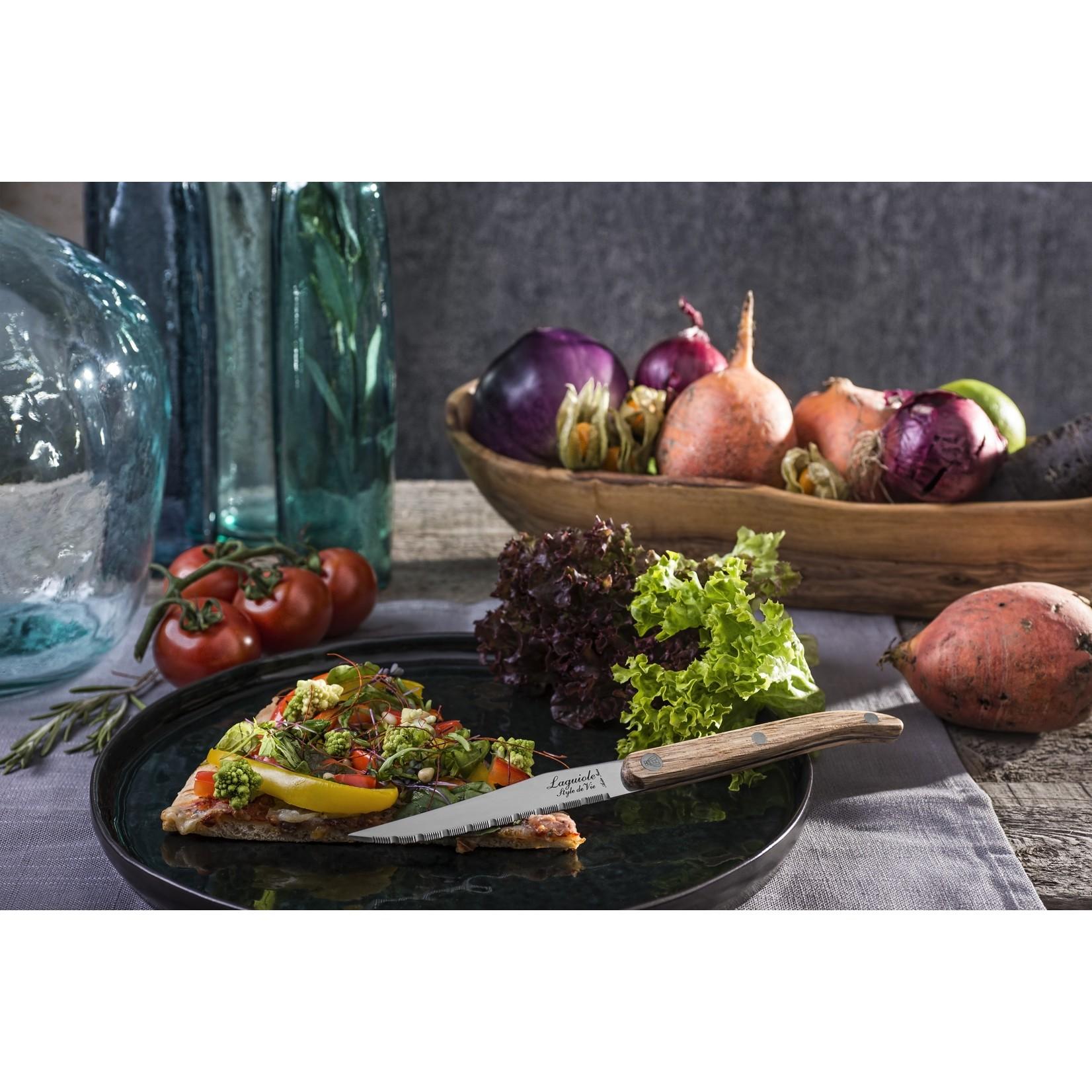 Laguiole Style de Vie Laguiole Style de Vie Innovation Line steakmessenset 6-delig eikenhout