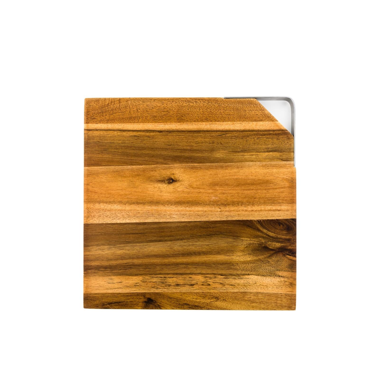 Laguiole Style de Vie Laguiole Style de Vie Innovation Line kaasmessenset 3-delig met snijplank