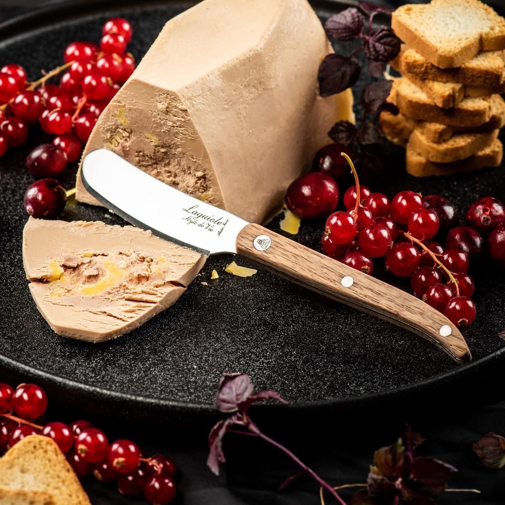 Laguiole Style de Vie Laguiole Style de Vie bottermessenset 4-delig eikenhout