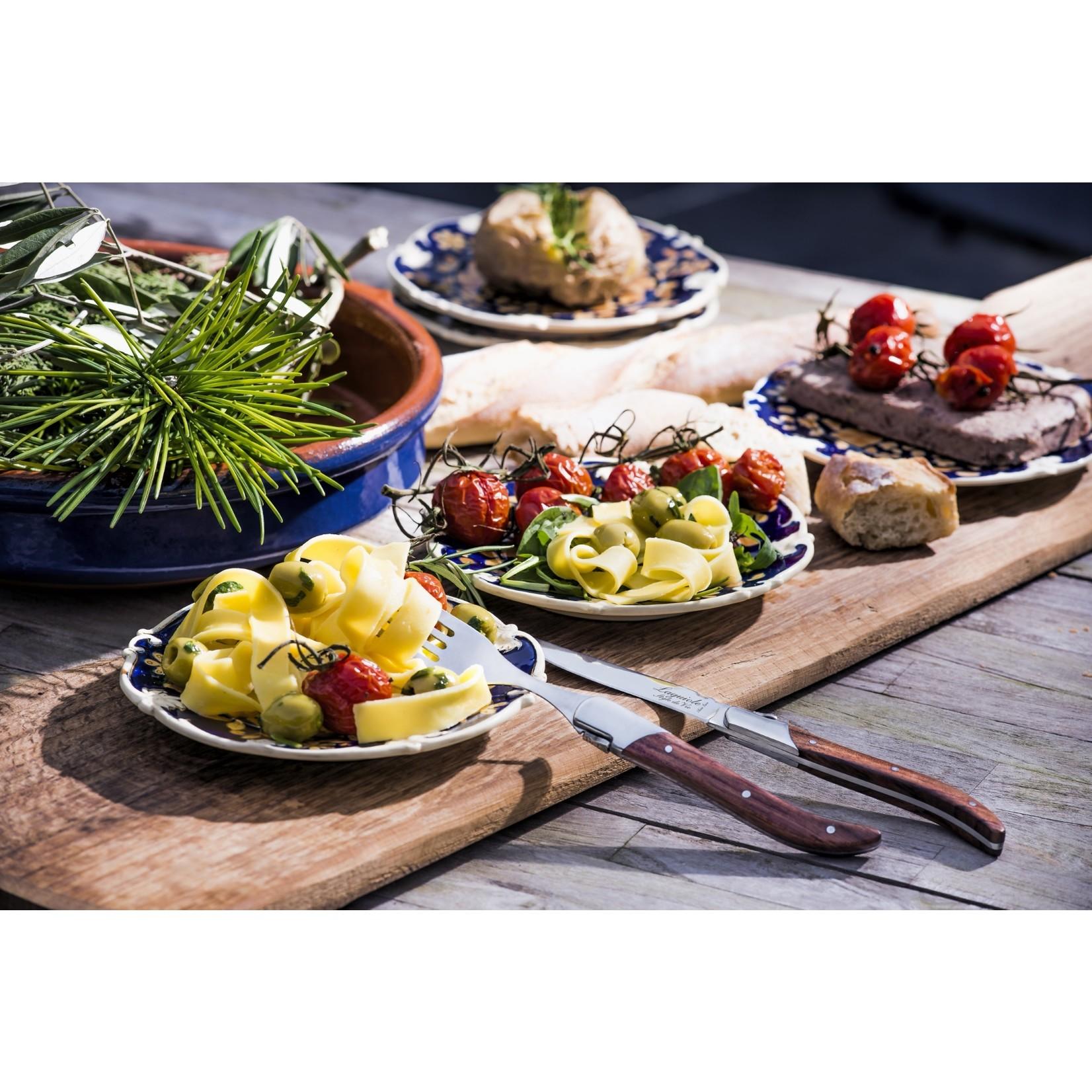 Laguiole Style de Vie Laguiole Style de Vie Luxury Line vorken 6-delig rozenhout