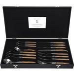 Laguiole Style de Vie Luxury Line bestekset 16-delig olijfhout