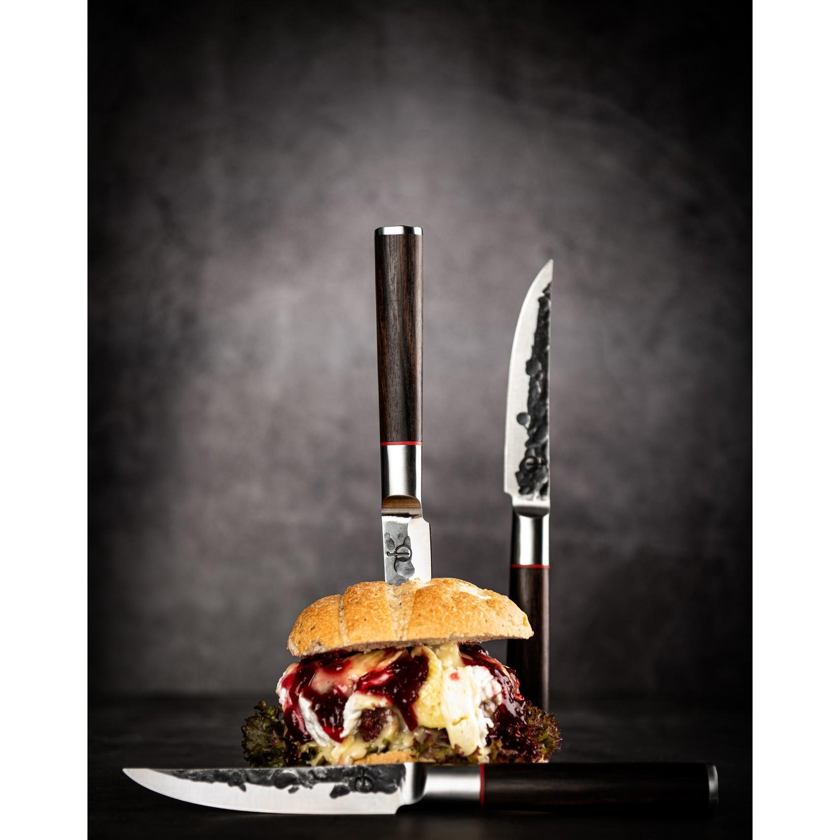 Forged Forged Sebra steakmessenset 4-delig