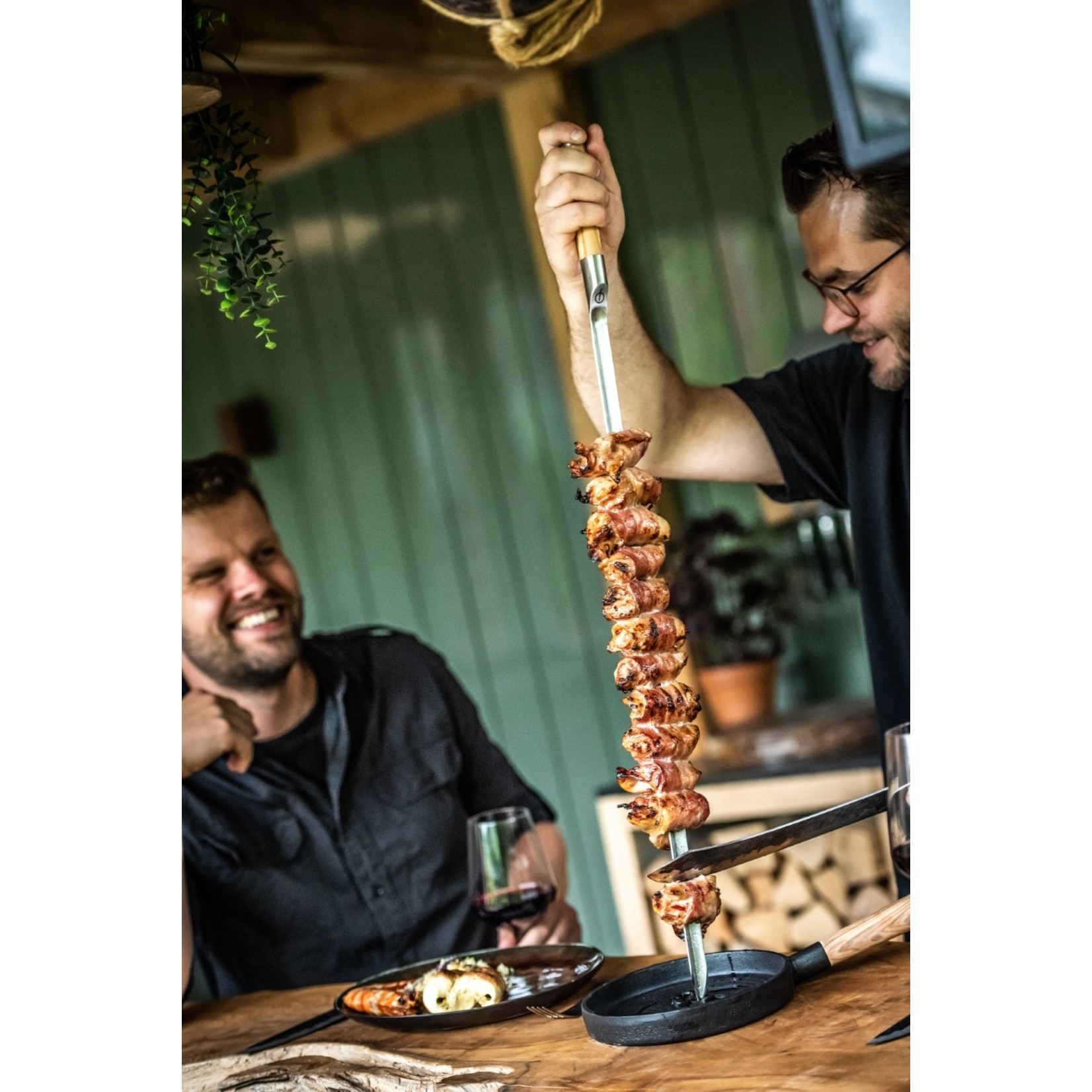 Forged Forged Churrasco serveerpannetje