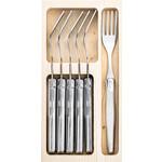 Laguiole Style de Vie Premium Line vorken 6-delig, rvs