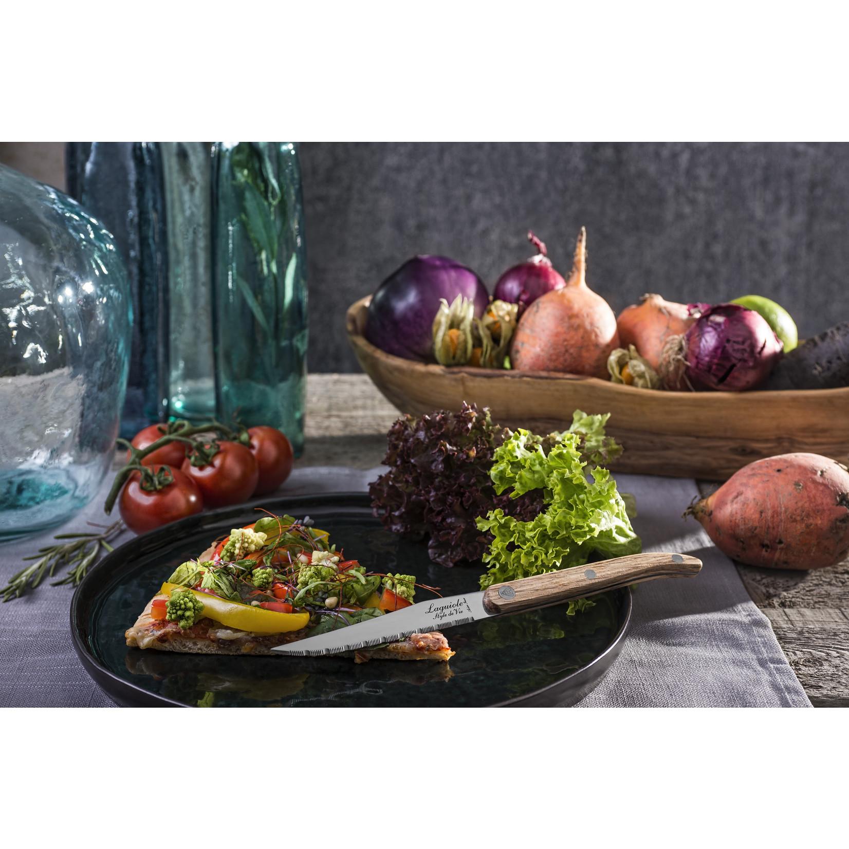 Laguiole Style de Vie Laguiole Style de Vie Innovation Line steakmessenset 6-delig pakkahout