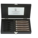 Laguiole Style de Vie Laguiole Style de Vie Luxury Line vork 6-delig wengehout