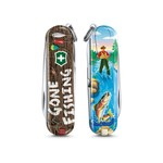 Victorinox Classic SD zwitsers zakmes Limited Edition 2020 Gone Fishing