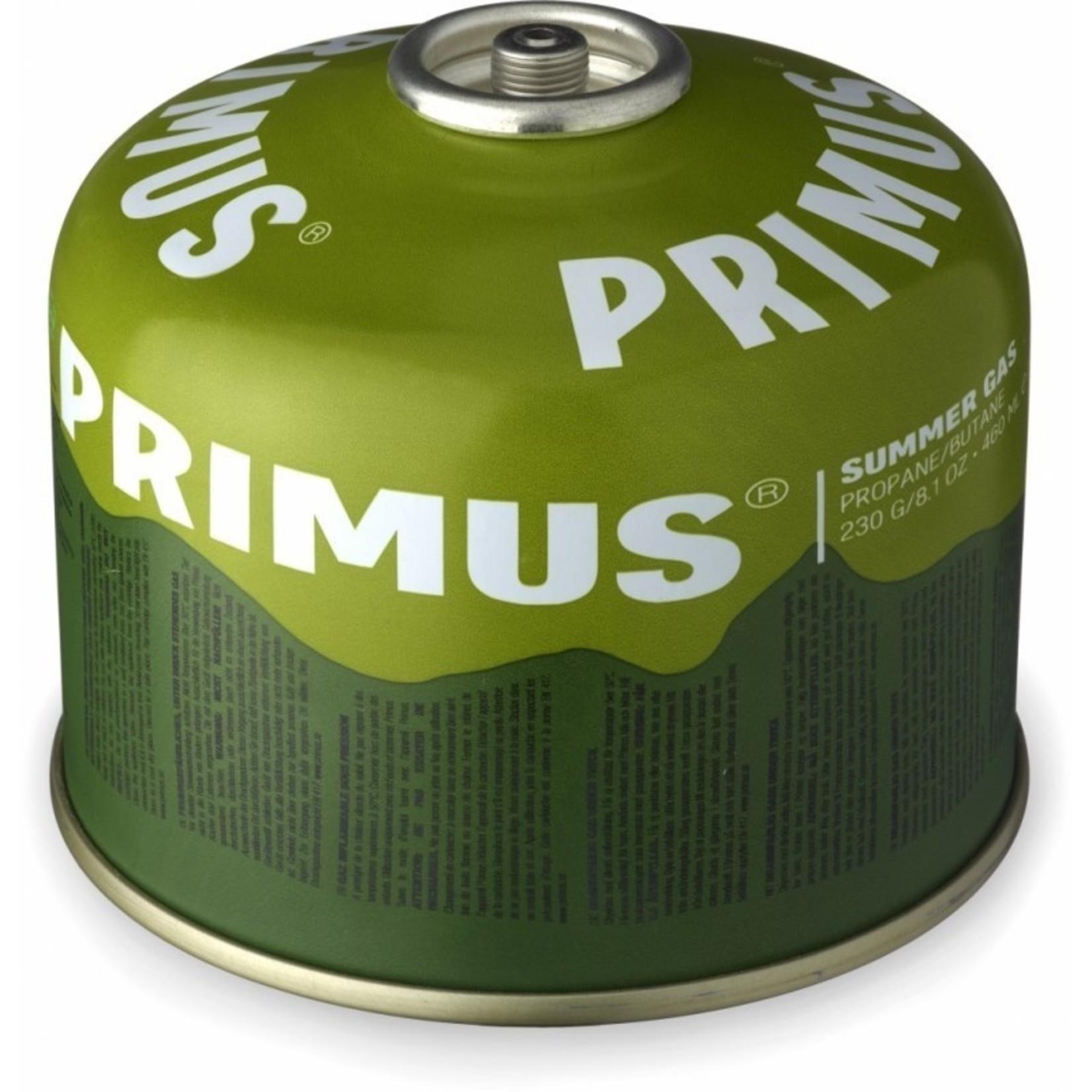 Primus Primus Summer gas 230 gram, perfect bij temperaturen boven de 15 graden Celsius