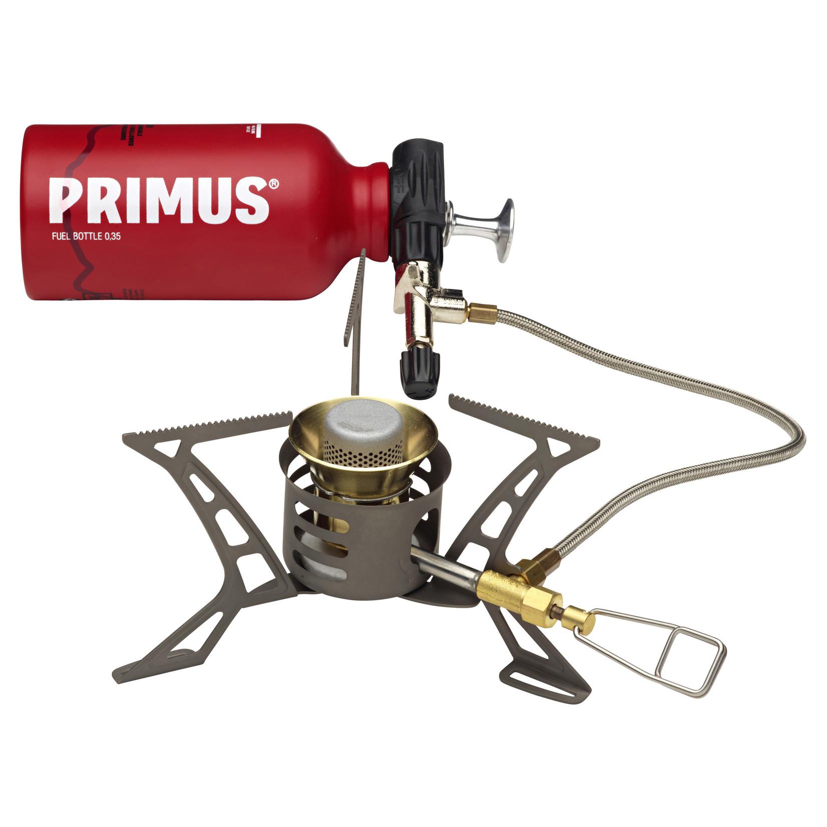 Primus Primus OmniLite Ti Silencer, werking alleen bij diverse soorten gas
