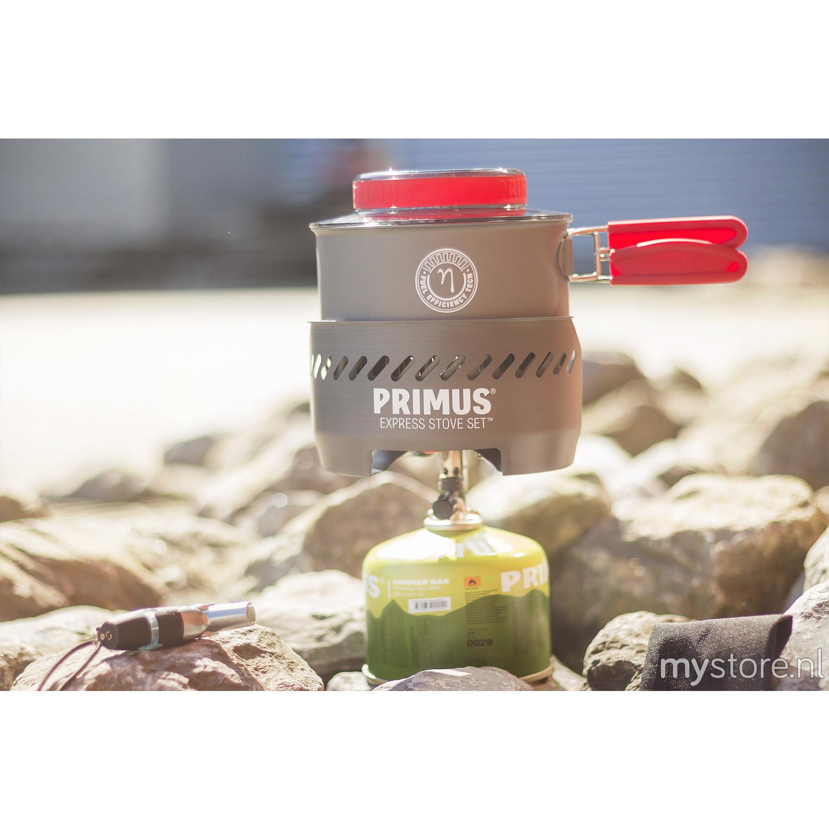 Primus Primus Express stove set met piezo, nieuwe PrimeTech pot