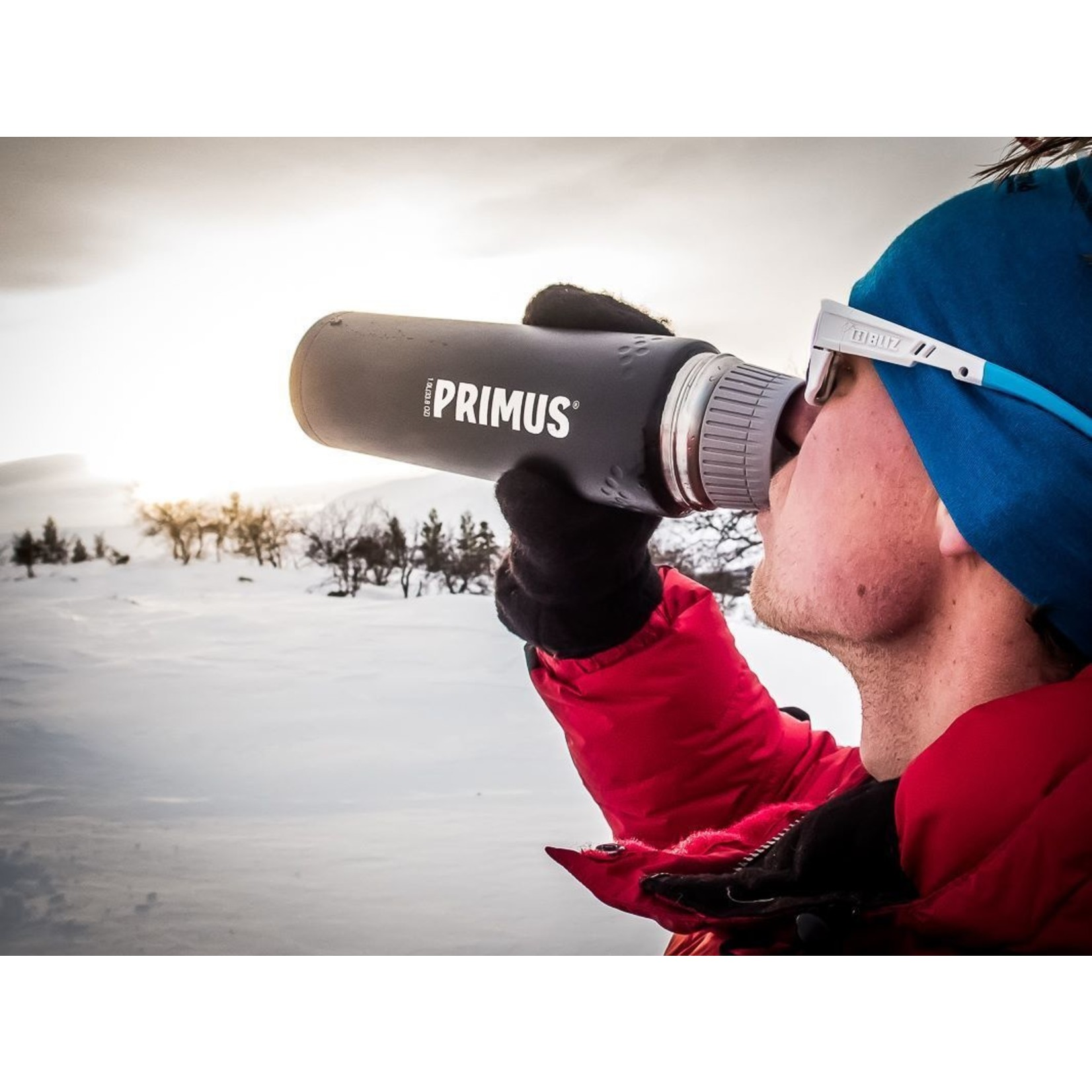 Primus Primus Trailbreak thermosfles 1,0 liter zwart
