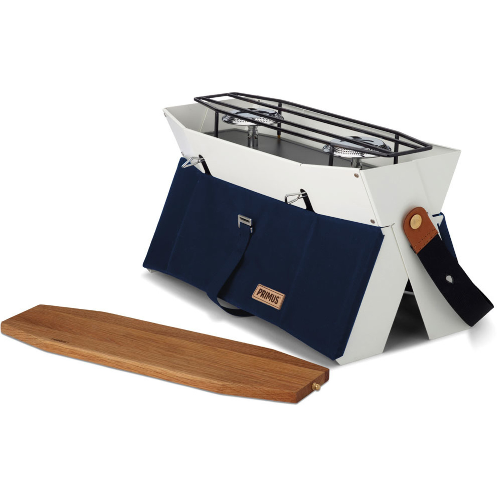 Primus Primus Onja kooktoestel, twee pits brander navy blauw