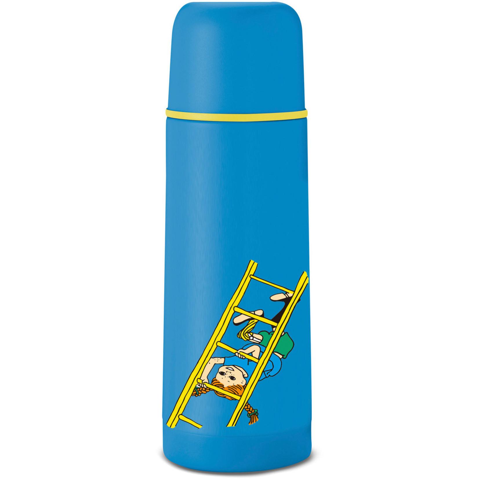 Primus Primus thermosfles Pippi Langkous 0,35 liter, rvs blauw