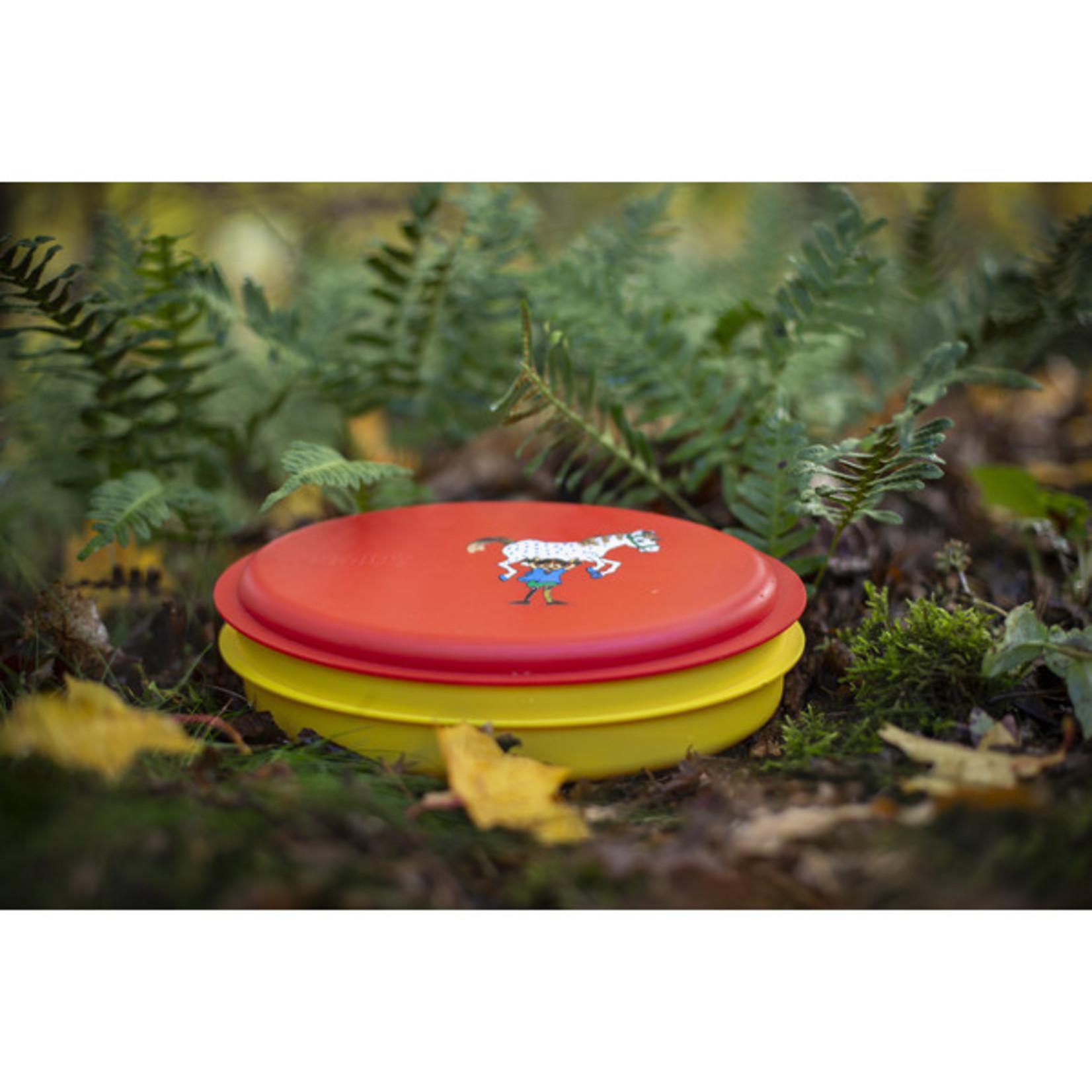 Primus Primus lunchbox Pippi Langkous 5-delig, rood