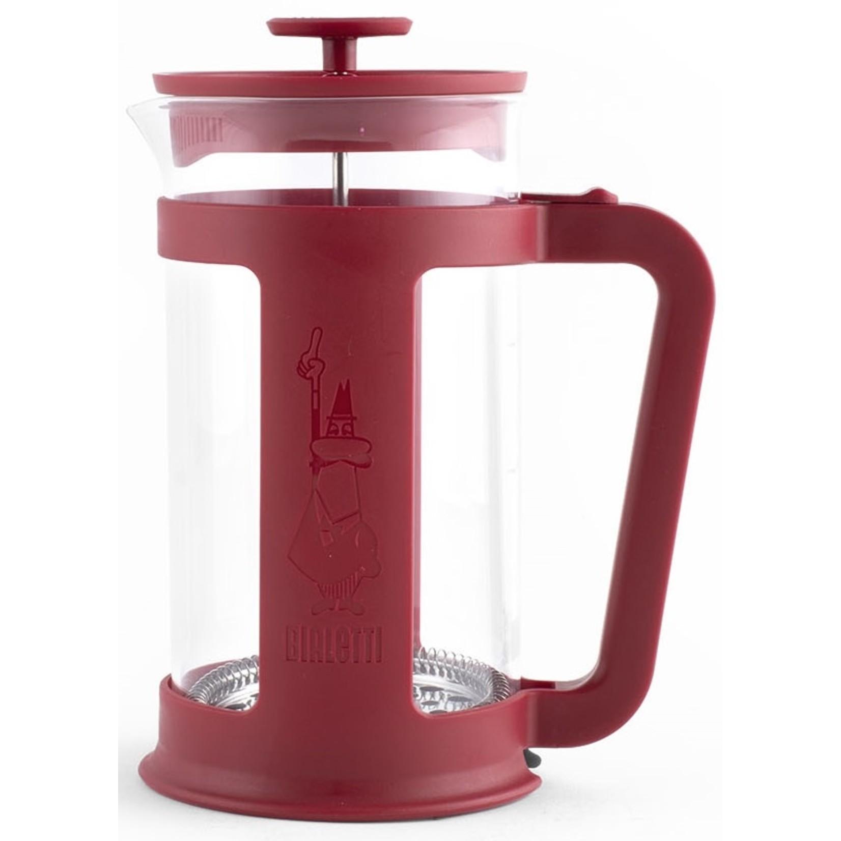 Bialetti Bialetti Caffetiere SMART rood 1 liter