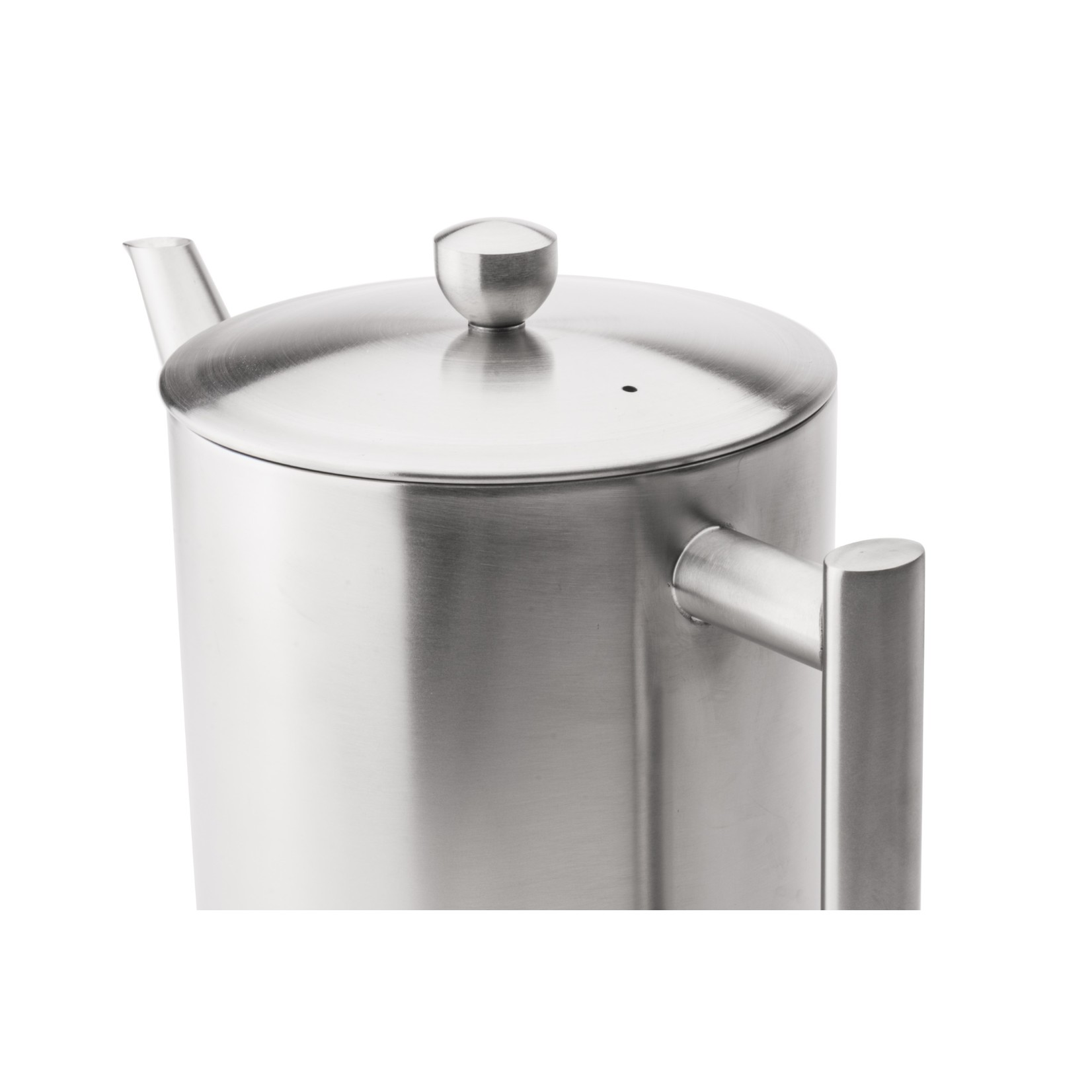 Bredemeijer Bredemeijer Minuet Cylindre Theepot mat metaal beslag 1,2 ltr